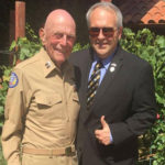 Don with WWII hero, Captain Yellin